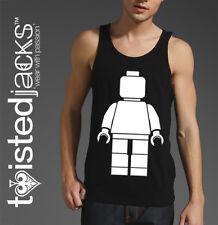 Lego Man Vest Top - Printed Vest - Men/Unisex - Lego Theme