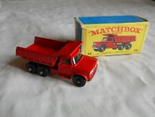 Matchbox Lesney No 48 dodge dumper truck boxed