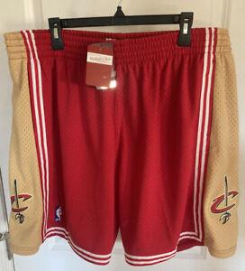 NEW Mitchell & Ness NBA Cleveland Cavaliers 2003-04 Shorts SIZE 2XL LeBron Retro