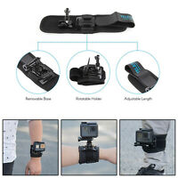 TELESIN 360¡ã Rotation Wrist Hand Strap Band Holder Mount for Go Pro Hero 7 B2