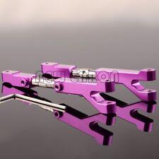 PURPLE ALUMINUM Adjustable Upper Arms FOR HPI Savage 4.6 5.9 FLUX 85066 85067