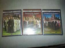 New Sealed Downton Abbey Season 1, 2, 3