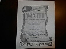 NOS BMW OEM Riders For The Best Test In the West Wanted Flyer