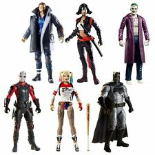 """DC Comics SQUADRA suicida KILLER CROC BAF 6"""" TOY FIGURE SET Joker, Harley, Batman"""