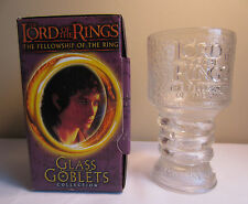 Lord Of The Rings The Fellowship Of The Ring Frodo Baggins Light Up Glass Goblet