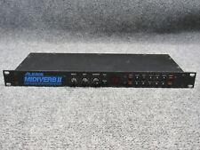 Alesis MIDIVERB II Rackmount Pro Audio 16-Bit Digital Effects Processor *Tested*