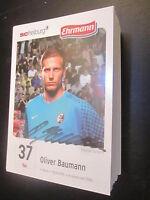 49150 Oliver Baumann SC Freiburg 10-11 original signierte Autogrammkarte