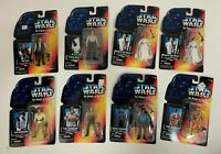 1995 Star Wars Power of the Force Red Card 8 Action Figure Lot POTF