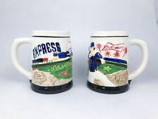 """Round Rock Express Ceramic Mugs """"Let's Rock"""" - Lot of 2"""