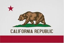 CALIFORNIA REPUBLIC STATE FLAG POSTER PRINT 36X24 FREE SHIPPING