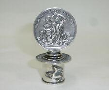 Zierkorken Korken Flaschenverschluss um 1900 Silber Georgstaler Hl. Georg B-0125