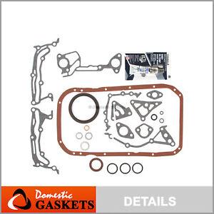Lower Gasket Set Fit 96-09 Hyundai Elantra Tiburon Kia Spectra Sportage G4GM