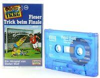 TKKG 148 Fieser Trick beim Finale Hörspiel  MC blau Kassette Europa logo -