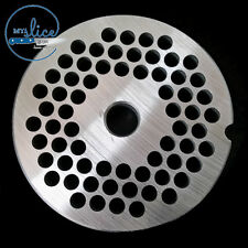 #22 Mincer Plate 6mm Holes Stainless Steel - Butcher, Sausage Making, Hunter