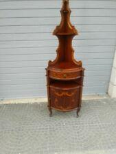 Angoliera antica porta telefono mobile angolare mobiletto porta oggetti