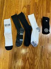 Lot of 5 Pairs of Mens Socks Crew Size 6-12 Variety NEW Loose Fast Free Shipping