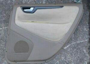 VOLVO V70 MK2  OFF SIDE REAR leather DOOR CARD 00-05  o s