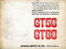 Yamaha GT50 & GT80 1973 Service Manual SVM-374-0056-30
