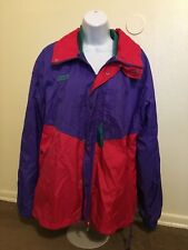 Columbia Radial Sleeve Snow Ski Jacket Two In One Vintage Red Purple 90s  Large