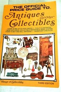 The OFFICAL PRICE guide to ANTIQUES & other COLLECTIBLES 3rd. EDITION 1981