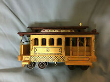 """San Francisco Wood Cable Car Music Box, Plays """"I Left My Heart In San Francisco"""