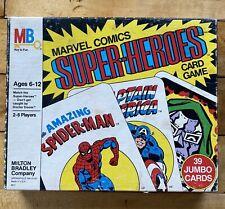 Vintage 1978 Marvel Comics Super Heroes Card Game Milton Bradley Complete