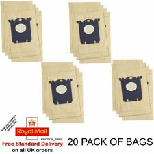 FITS PHILIPS ZANUSSI ELECTROLUX VACUUM CLEANER S CLASS HOOVER DUST BAGS x 20
