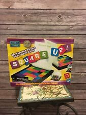 MindWare SQUARE UP - A Puzzle Board Game, Age 6+ 1-2 Players, New, Tile Matching