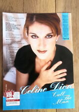 CELINE DION Call The Man lyrics magazine PHOTO/Poster/clipping 11x8 inches
