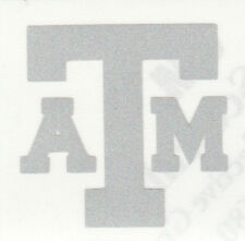 REFLECTIVE Texas A&M Aggies 2 inch helmet decal sticke RTIC
