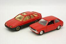 Solido SB 1/43 - Set of 2 Ford Sierra and Fiesta MKI