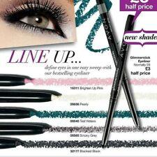 Avon Glimmersticks Waterproof EyeLiner Pencil Smoky Grey 4pc Lot New Discontinue