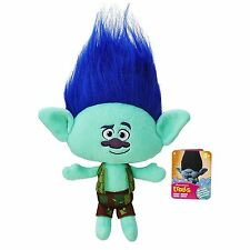 "DreamWorks Trolls Branch Hug 'N 14"" inches Plush Doll BRAND NEW with Tags"