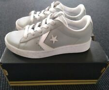 kids Converse leather shoes size 12