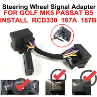 RCD330,510 Multifunctional Wheel Control Adapter Cable For VW GOLF POLO PASSAT