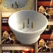 Hukka Design Saunamaestro Speckstein-Springbrunnen für die Sauna aus Finnland