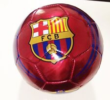 FC BARCELONA Soccer Ball Size 5 Authentic Official- RED FCB Futbol [Toy]