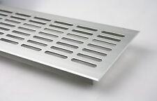 Aluminium Lüftungsgitter Stegblech Silber eloxiert - Länge 1500 mm div. Breiten