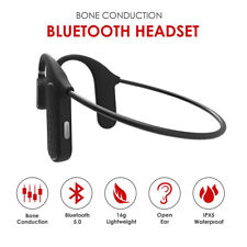 Wireless Bluetooth 5.0 Headphones Super Bass Sport Gym Earbuds Headset with Mic