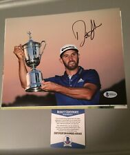 dustin johnson signed 8x10 Photo Picture Beckett Coa