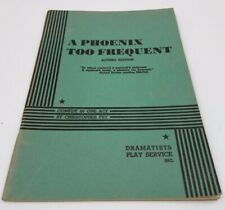 A PHOENIX TOO FREQUENT - ACTING EDITION(1953) Christopher Fry vintage play book