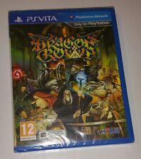 DRAGON'S CROWN PS Vita New Sealed UK PAL Game Sony PlayStation PSV DRAGON RARE