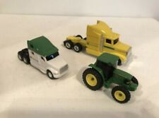 Ertl diecast car set DieCast John Deere semi trucks and tractor 1/64