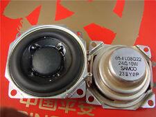 """1P 2"""" inch 24Ohm 24Ω 10W Full Range Audio Speaker Stereo Woofer Loudspeaker Horn"""