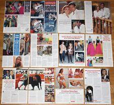 CRISTINA SANCHEZ lote prensa 1990s clippings Toros Torera Bullfighter fotos