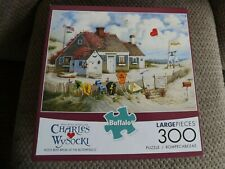 """Charles Wysocki 300 Pc Puzzle Clean, Bagged """"Root Beer Break at the Butterfields"""
