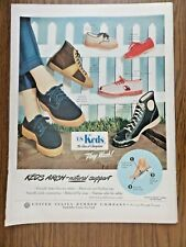 1949 U S Keds  Shoes Ad   Keds Arch Natural Support