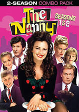 THE NANNY: FIRST SECOND SEASONS 1 2 ONE TWO - BRAND NEW, FACTORY SEALED!