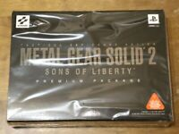 Playstation2 PS2 METAL GEAR SOLID 2 Premium Package Limited Japan very good