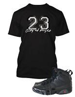 23 Tee Shirt To match Air Jordan 10 City of Flight Shoe Men Graphic Pro Club Tee